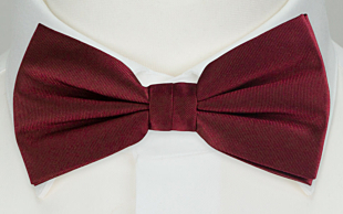 SOLID Burgundy butterfly
